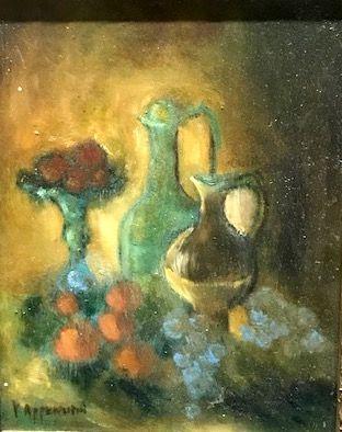 YVONNE APPENNINI (1928-1988)  Nature morte...