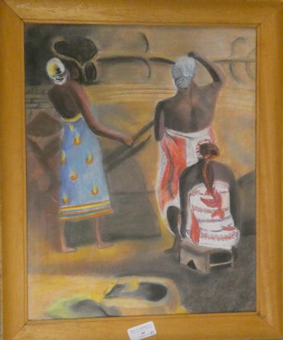 Travail africain contemporain  Femmes de...