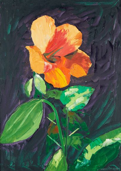 MARIO BERRINO (1920-2011)  Fleur mexicaine...