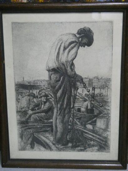 Karl HÄNSEL (1868-1947)  Ecole du nord -...