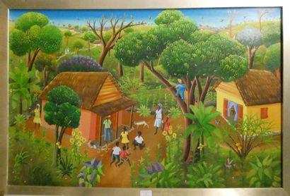 U.D BOURSIQUOTS (Ecole Haitienne)  Vue de...