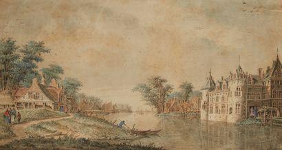 Dirk VERRIJK  (Haarlem 1734 – La Haye 1786)...