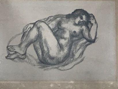 ARISTIDE MAILOL (1861-1944), D'après  Nu...