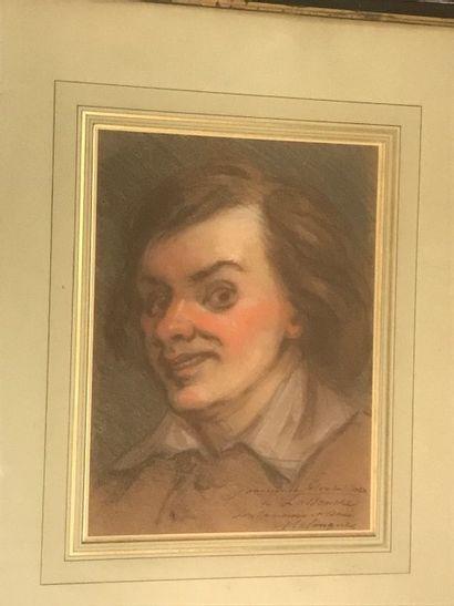 Etienne MARIN MELINGUE (1807-1875)  Portrait...