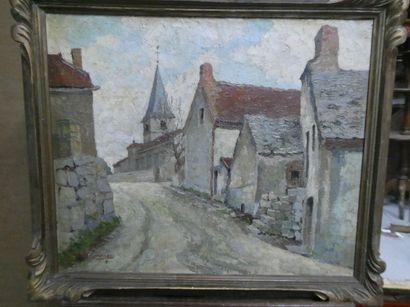 Ecole française du XXe siècle  Rue de la...