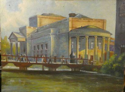 Ecole Moderne d'Europe de l'Est  Pont et...