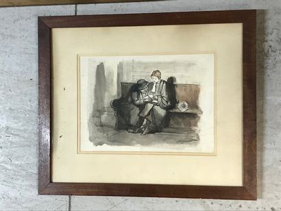 CHARLES EMMANUEL JODELET (1883-1969),  Au...