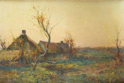MICHEL KOROCHANSKY (1866-1925)  Paysage de...