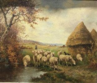 AIME ADOPLHE BOURGOIN, né en 1824  Berger...