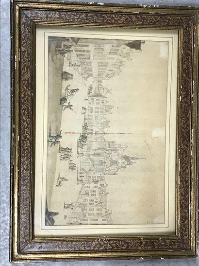 Ecole HOLLANDAISE du début du XVIIIème siècle...