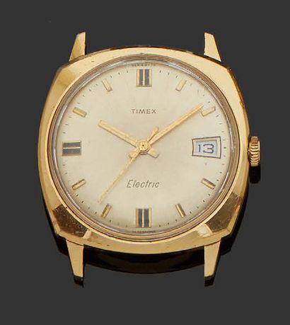 MONTRE TIMEX Montre bracelet d'homme en métal...