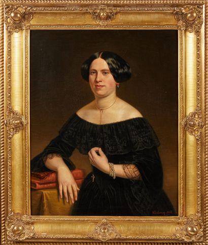 MARGUERITE LECLERCQ (ACTIVE EN 1851)