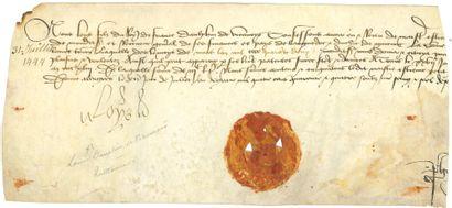 Louis XI (1423-1483) Roi de France.