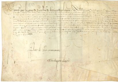 HENRI III (1551-1589) Roi de France.
