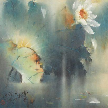 CHINE Peintre : HU Yuji (Né 1927)