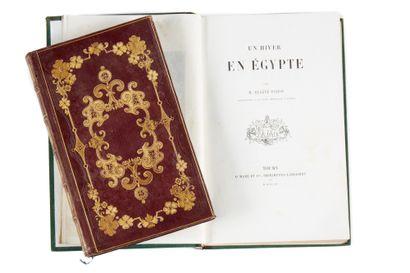 Deux livres XIX - POITOU, Eugène. Un hiver...