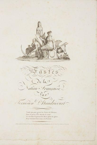 TERNISIEN D'HAUDRICOURT (F).