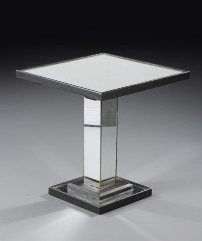 JACQUES ADNET (1901-1984)  Table d'appoint...