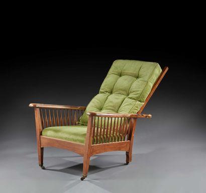 TRAVAIL FRANÇAIS 1930  Paire de fauteuils...