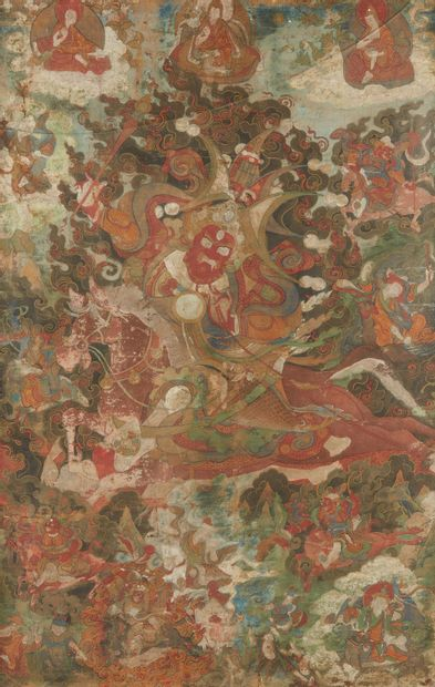 ART SINO-TIBETAIN OU NEPAL