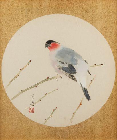 INOUE TSUNEYA (PEINTRE JAPONAIS 1895-1979) * ***Aquarelle sur papier représentant...