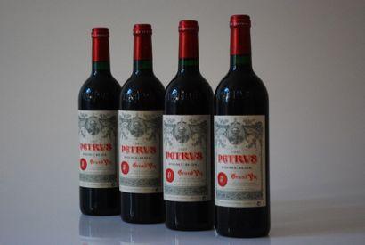 Quatre bouteilles de Petrus 1997, Pomero...