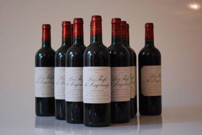 Onze bouteilles de Fief de la Grange 2004,...