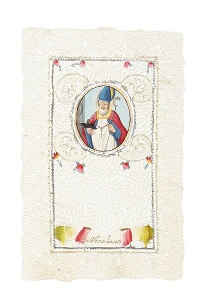 S. Nicolas - Canivet 19e siècle, représentant...