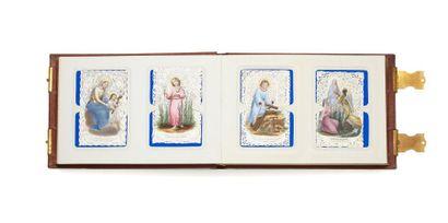 Album religieux, fin 19e siècle - Très bel...