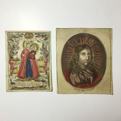 Maria Mater Iesu consolatrix - Gravure sur...