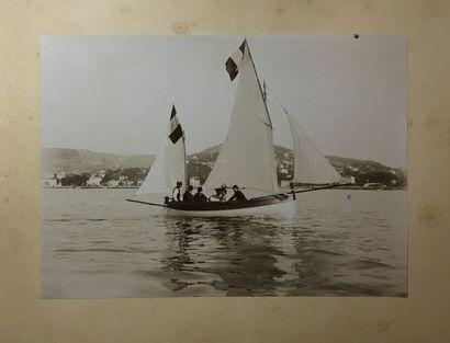 Photographies, 1896 - Yachting Album (dérelié)...