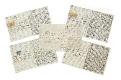 Guerre franco-prussienne, 1870-71 - Correspondance...