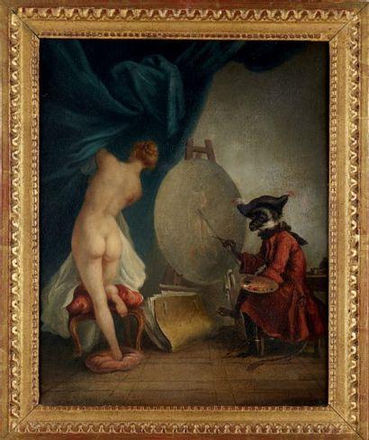 Ecole FRANCAISE vers 1800 suiveur de Chardin
