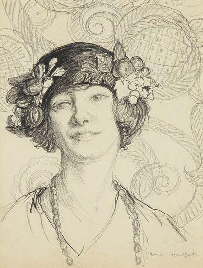Thomas HANDFORTH (1897 - 1948)  Dessin figurant...