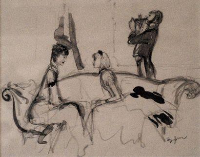 Emilien Léon Jean DUFOUR (XIX-XX)  Femmes...