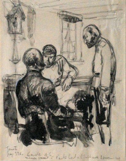 Emilien Léon Jean DUFOUR (XIX-XX)  Trois...