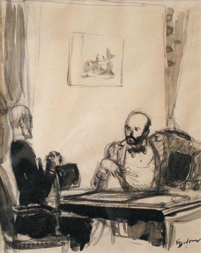 Emilien Léon Jean DUFOUR (XIX-XX)  Deux...