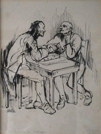 Bernard NAUDIN (1876-1946)  Les philosophes...