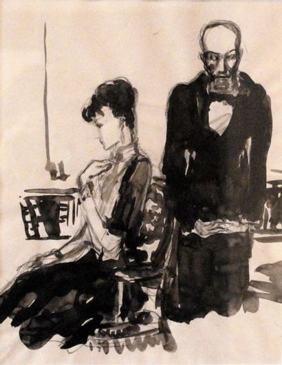 Emilien Léon Jean DUFOUR (XIX-XX) Un homme...