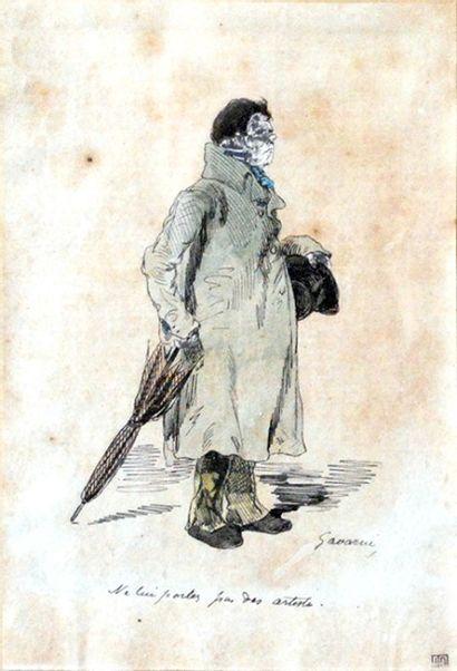 D'après Paul GAVARNI (1804-1866), école française...