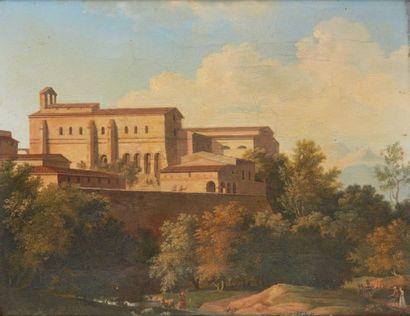 Ecole du XIXe siècle dans le goût de BERTIN