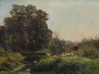 GIRARDET Eugène (1853-1907)
