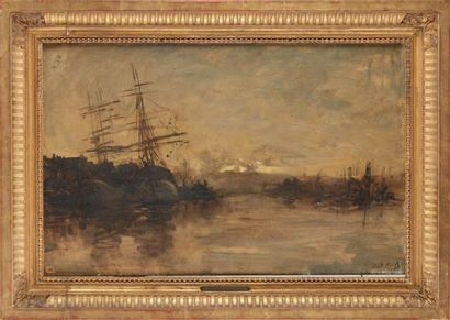 DAUBIGNY Karl (1846-1886)