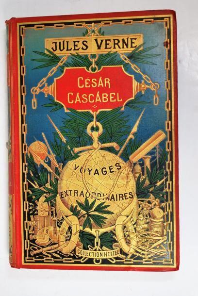 Jules VERNE VERNE (Jules)    César cascabel.    85 dessins de George Roux. Paris,...