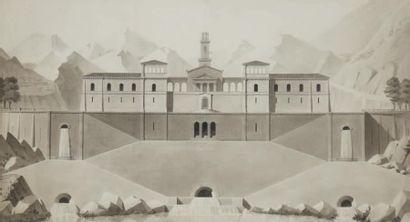 Ecole francaise du début XIXe siècle