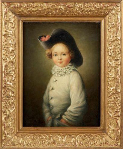 Portrait d'un enfant en habit de