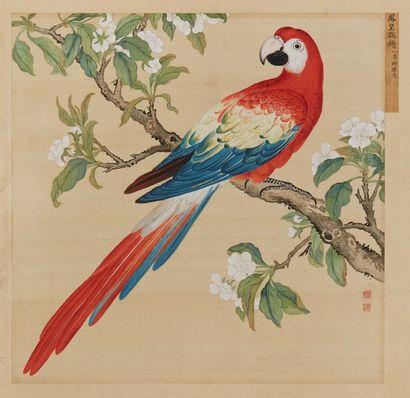 CHINE Attribué à JIANG TINGXI (1669-1732)