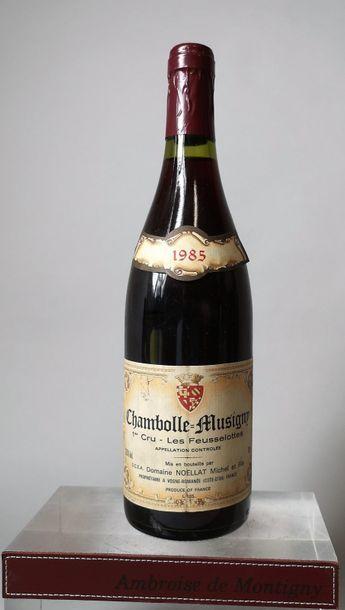 2 bouteilles BOURGOGNES 1er cru MICHEL NOËLLAT...