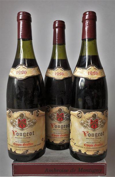 VOUGEOT - Domaine CHOPIN-GROFFIER 1996 ...