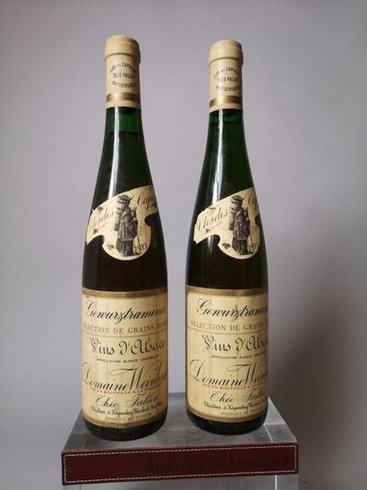 2 bouteilles WEINBACH